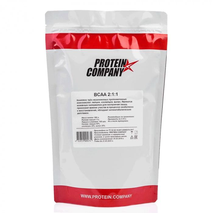 BCAA 2-1-1 / пакет 0,5 кг / 100 порций