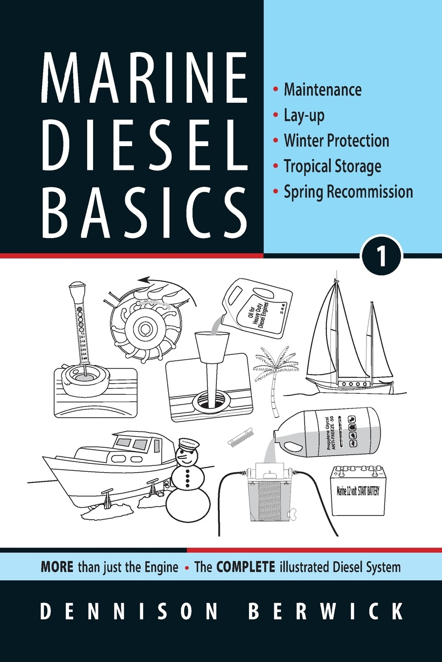 Dennison Berwick Marine Diesel Basics 1. Maintenance, Lay-up, Winter Protection, Tropical Storage, Spring Recommission