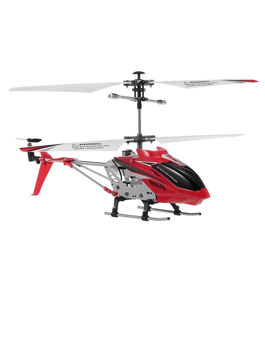 Радиоуправляемый вертолет Syma S107H красный