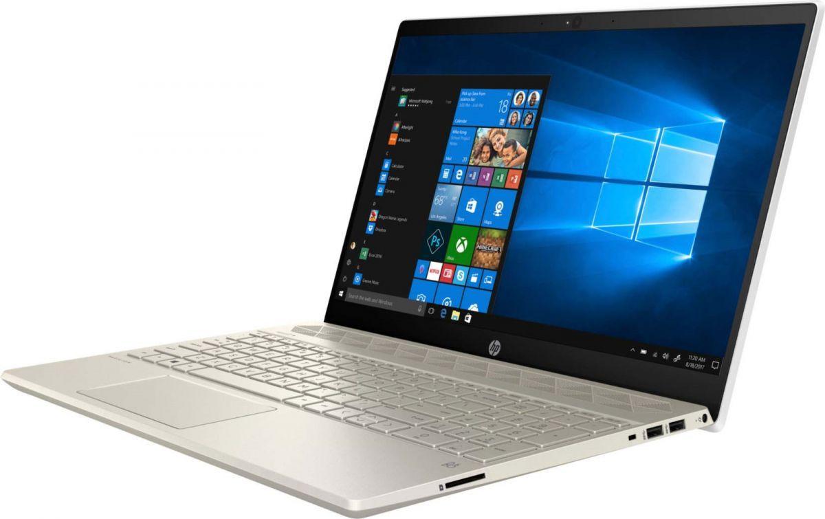 15,6 Ноутбук HP Pavilion 15-cs2019ur 6SQ16EA, золотистый ноутбук irbis nb211 intel celeron n3350 1 1 ghz 3072mb 32gb ssd intel hd graphics wi fi bluetooth cam 11 6 1920x1080 windows 10 home