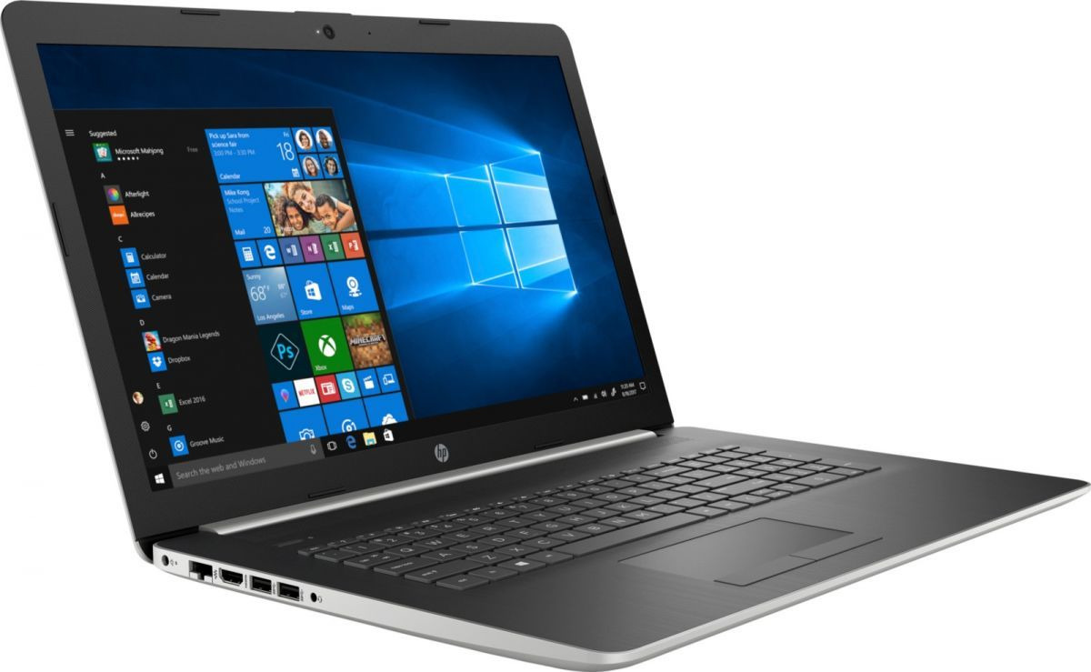 17,3 Ноутбук HP 17-ca1013ur 6SQ03EA, серебристый