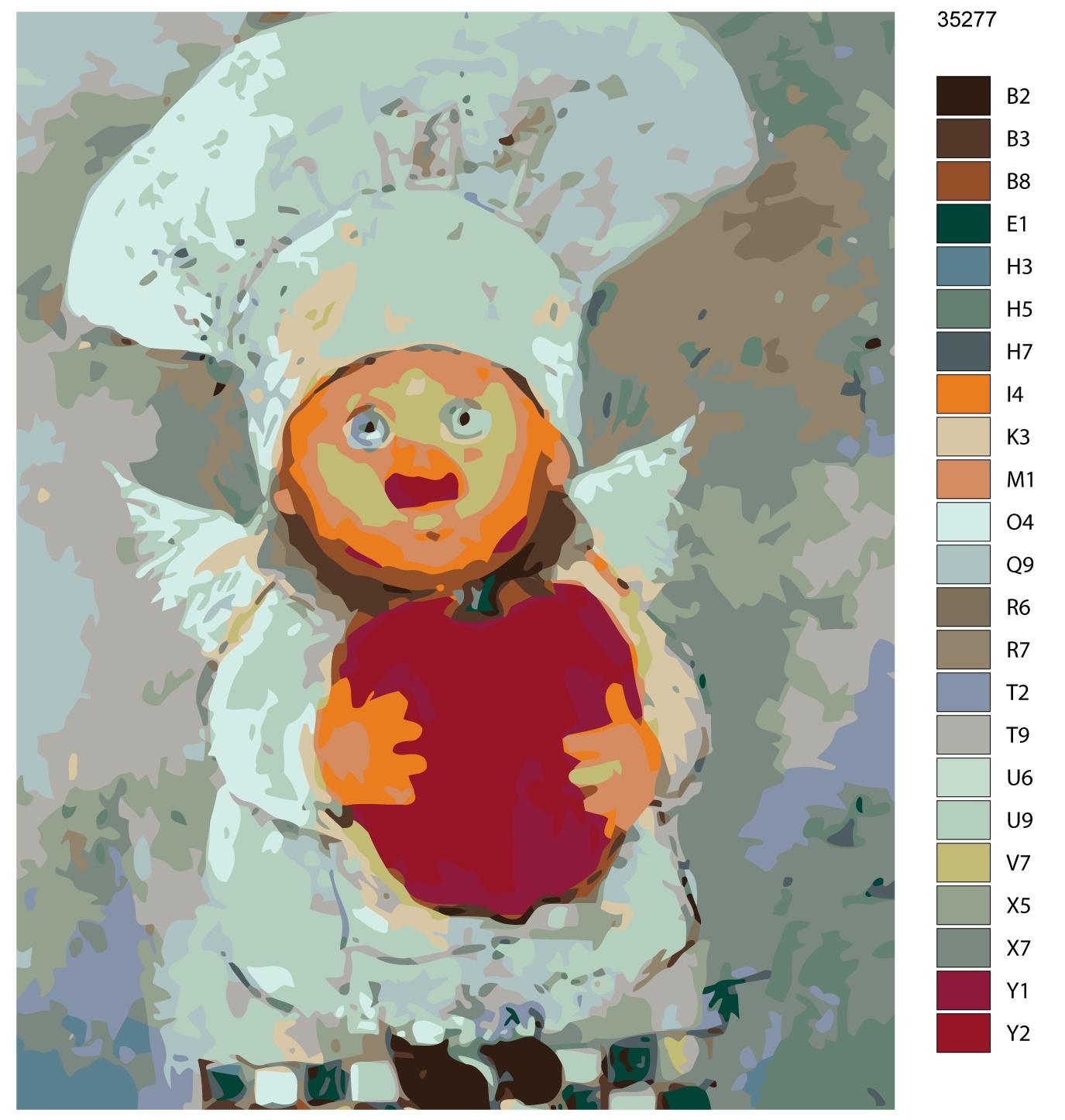 Картина по номерам, 40 x 50 см, KTMK-35277