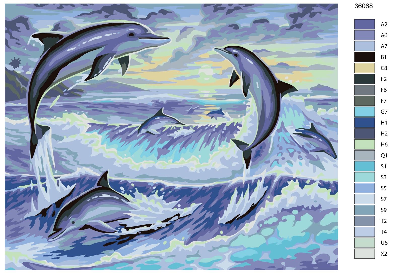 Картина по номерам, 40 x 50 см, KTMK-36068