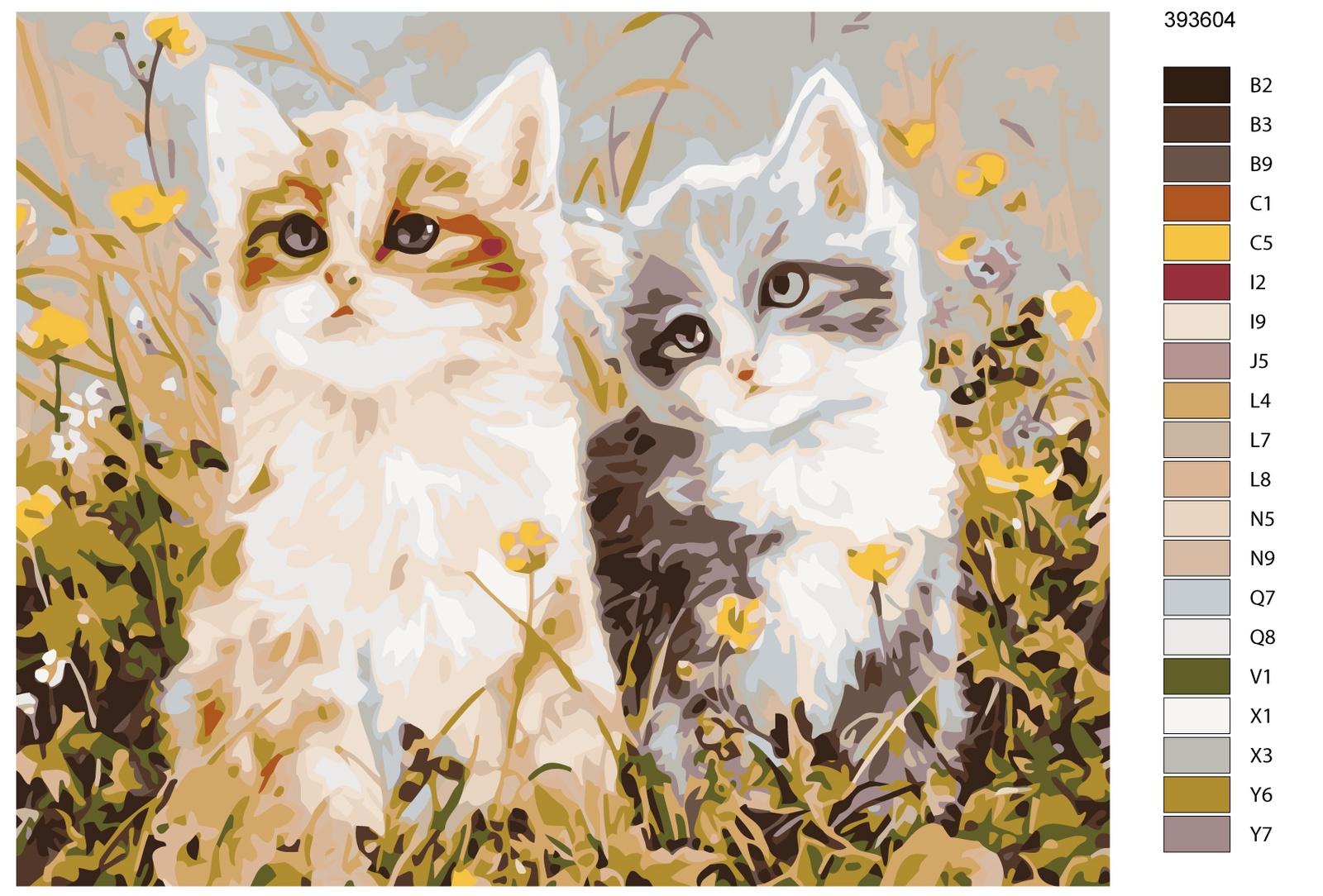 Картина по номерам, 40 x 50 см, KTMK-393604