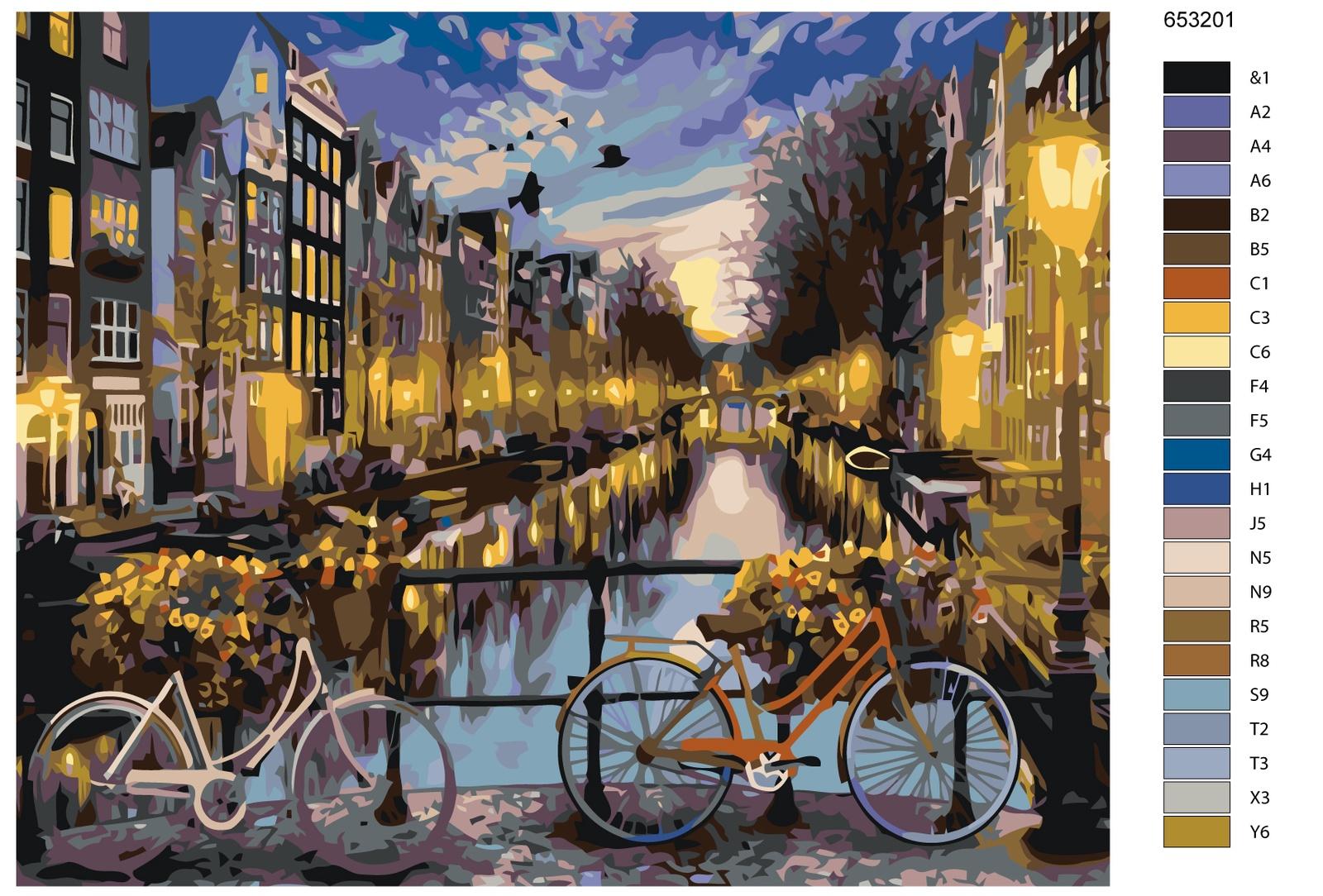 Картина по номерам, 40 x 50 см, KTMK-653201