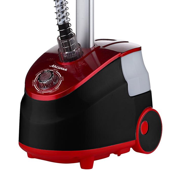 Отпариватель Аксинья КС-7800, черный, красный