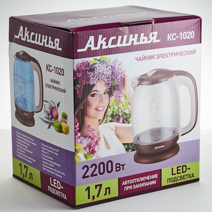 Электрический чайник Аксинья КС-1020 Аксинья
