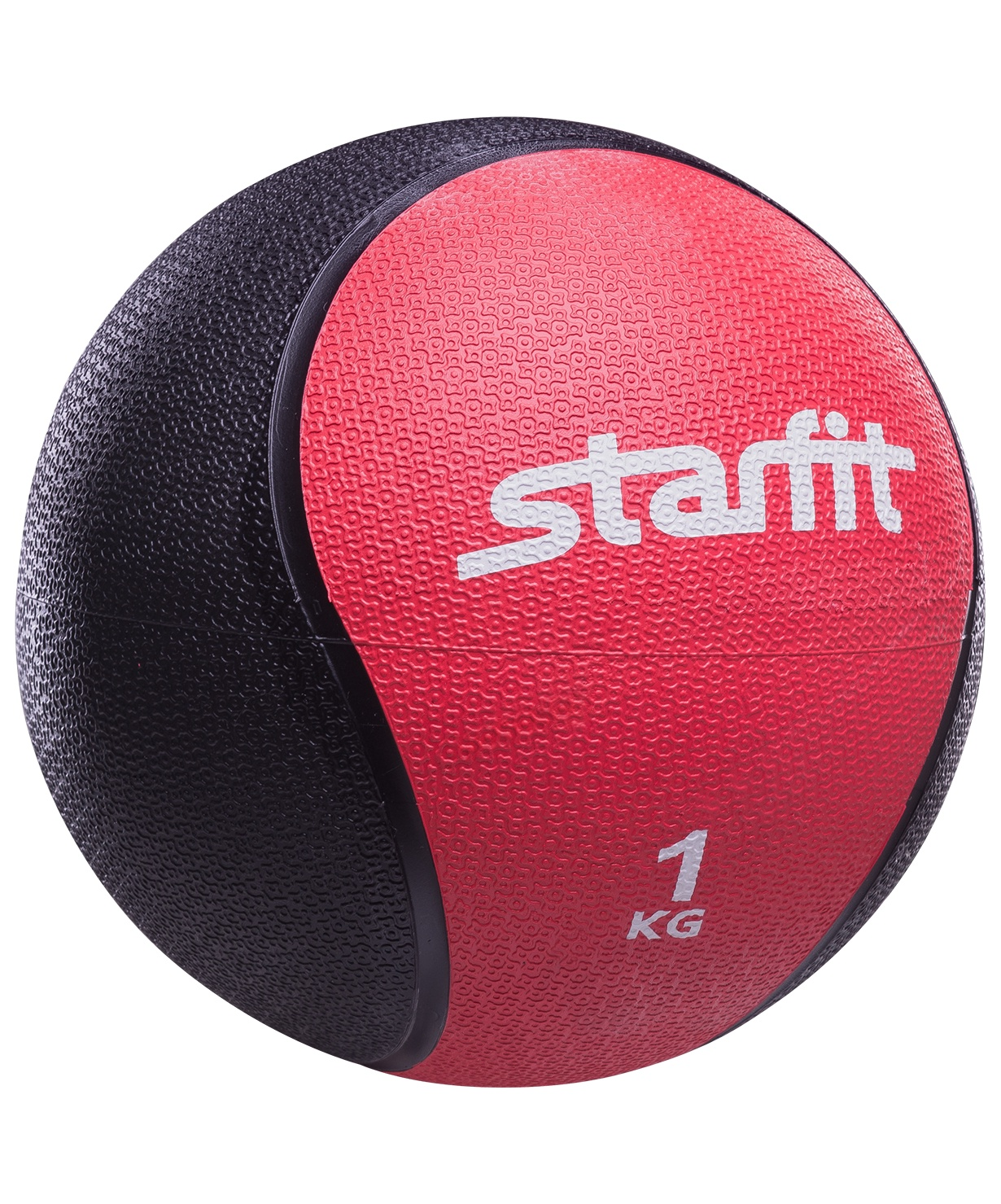 Медбол STARFIT Pro GB-702, 1 кг, красный 1/6