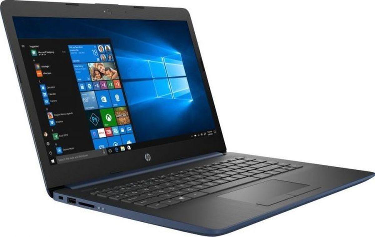 14 Ноутбук HP 14-cm0082ur 6NE08EA, синий