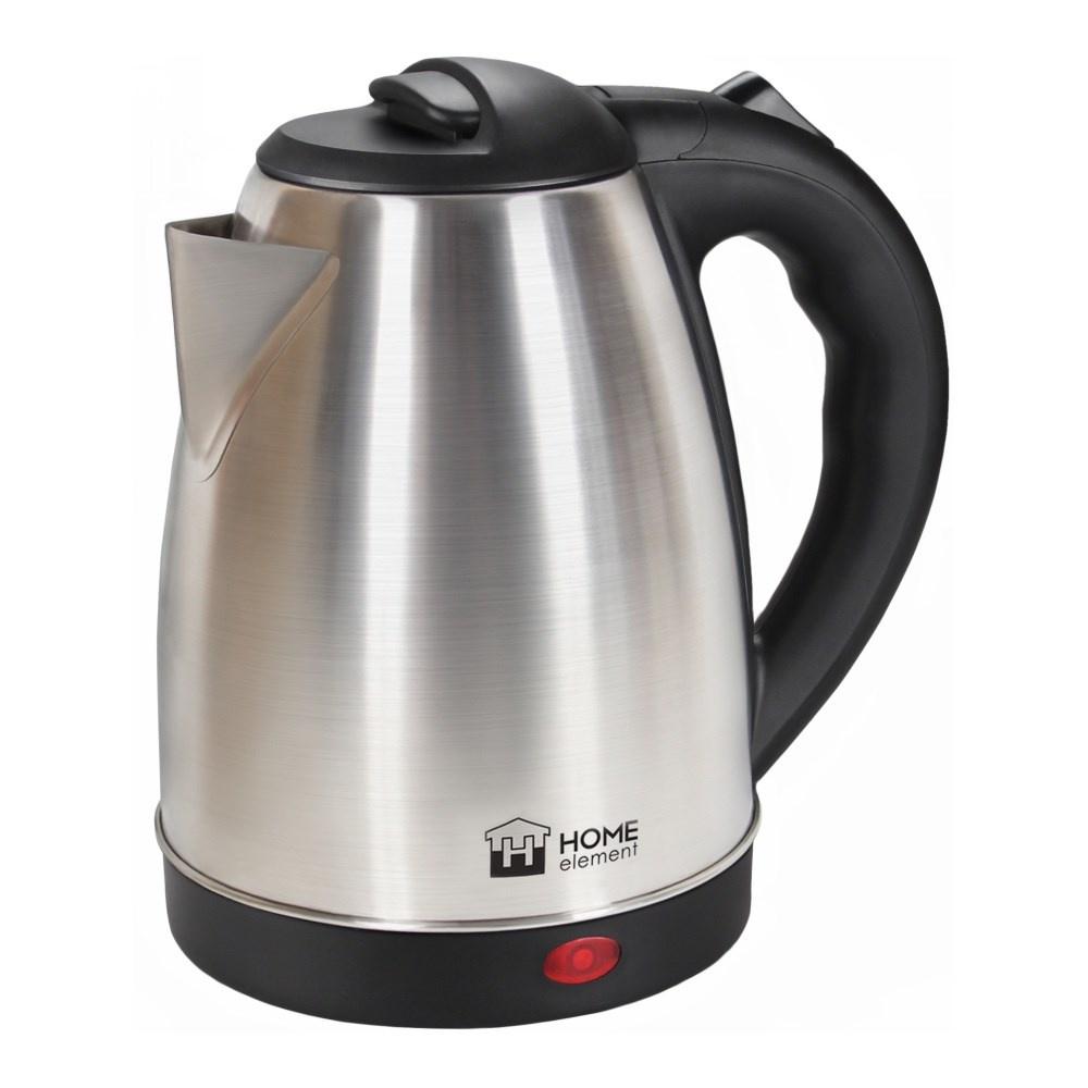 Чайник электрический Home Element HE-KT198 черный жемчуг чайник home element he kt191 черный жемчуг 1800 вт 2 л