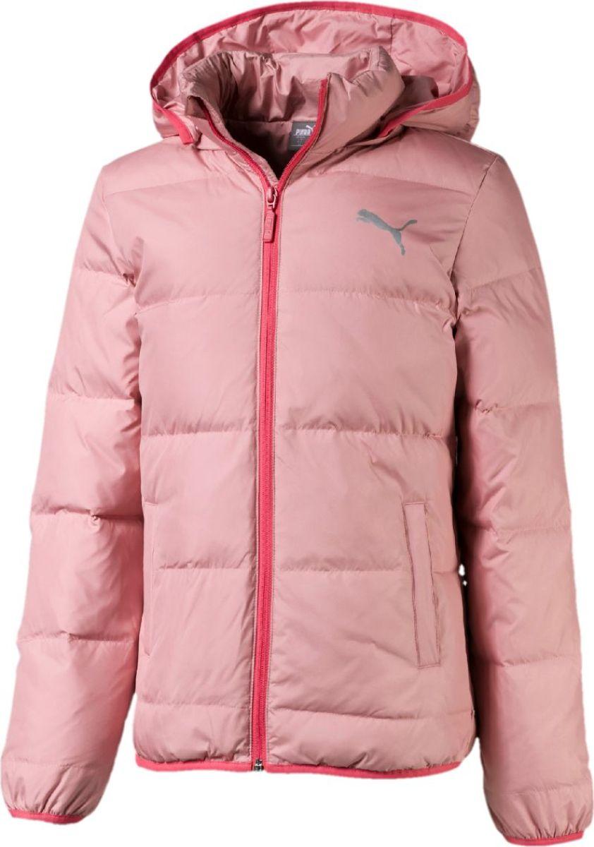 Пуховик PUMA Light Down Jacket пуховик мужской puma ferrari down jacket цвет черный 57667402 размер s 44 46