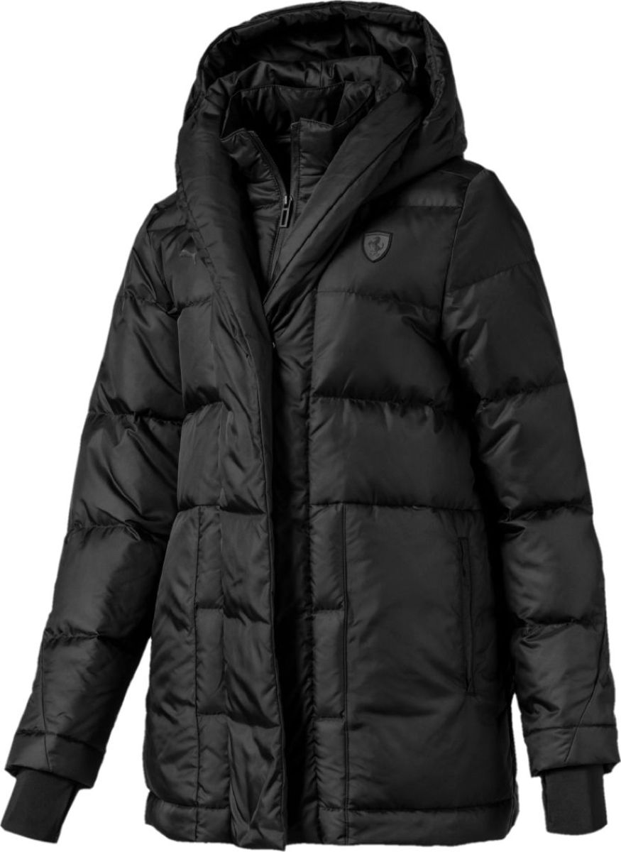 Пуховик PUMA Ferrari Wmn Down Jacket пуховик мужской puma ferrari down jacket цвет черный 57667402 размер s 44 46