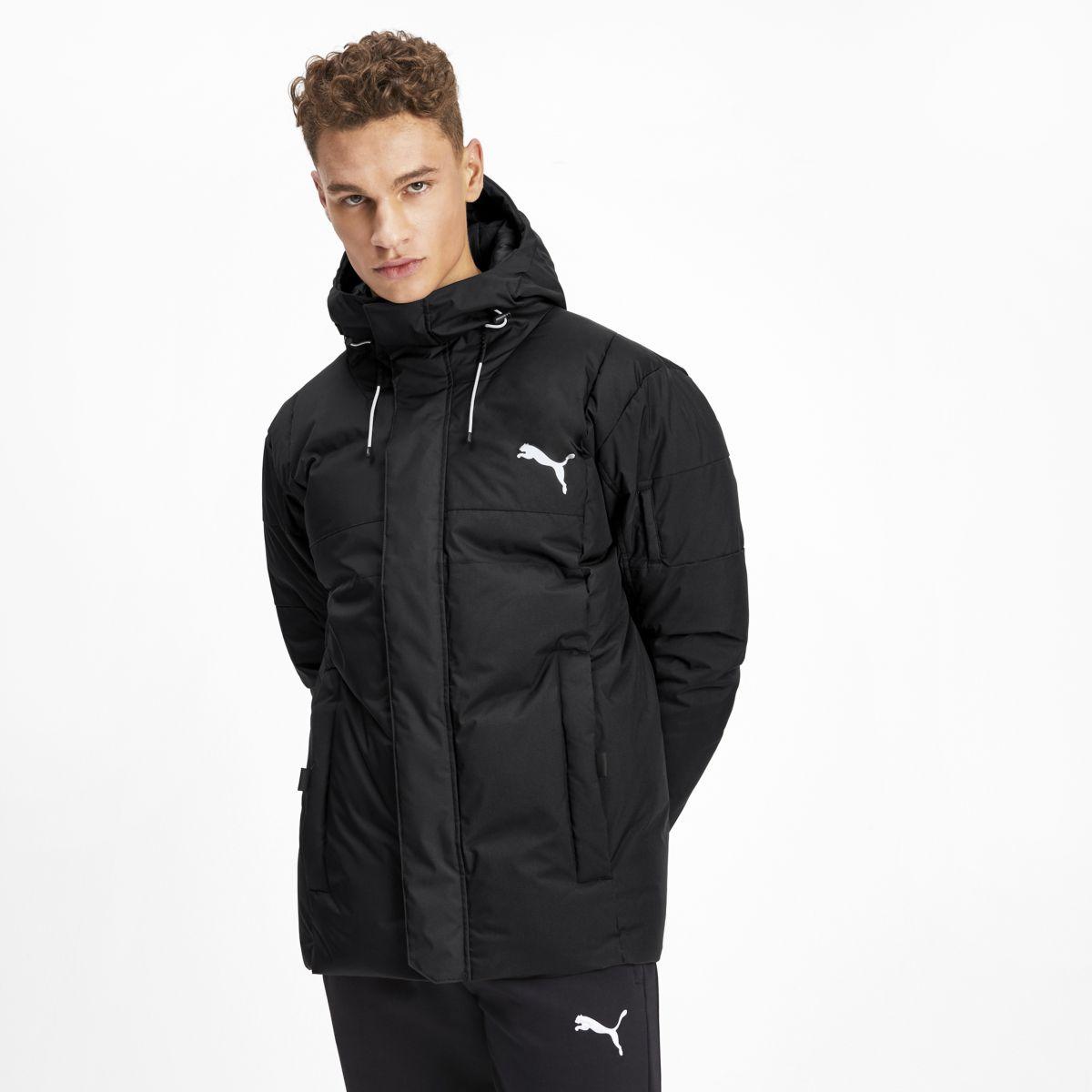 Пуховик PUMA 650 Protective Down Jacket пуховик мужской puma ferrari down jacket цвет черный 57667402 размер s 44 46
