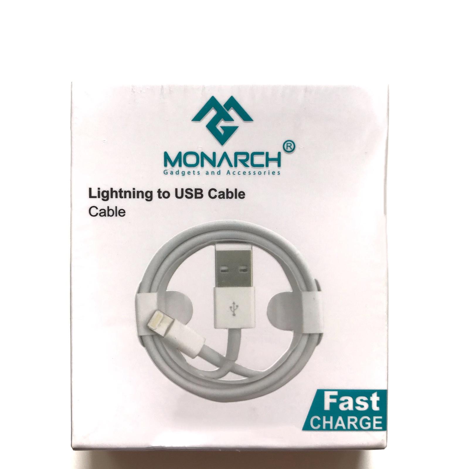 Кабель Monarch USB Fast Charge для зарядки и синхронизации