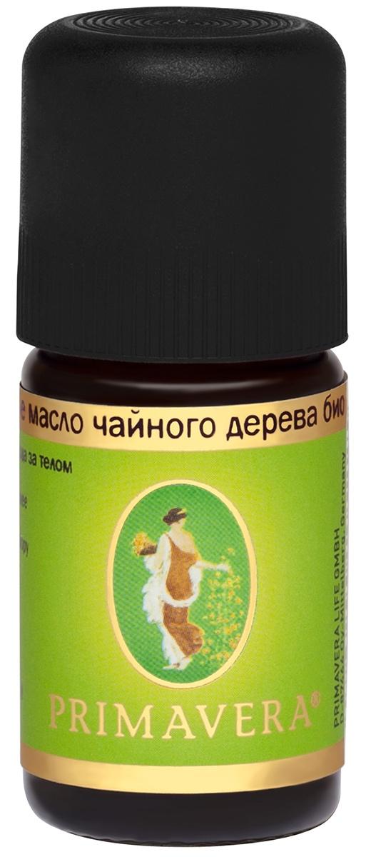 Эфирное масло Primavera Life, чайное дерево био, 5 мл
