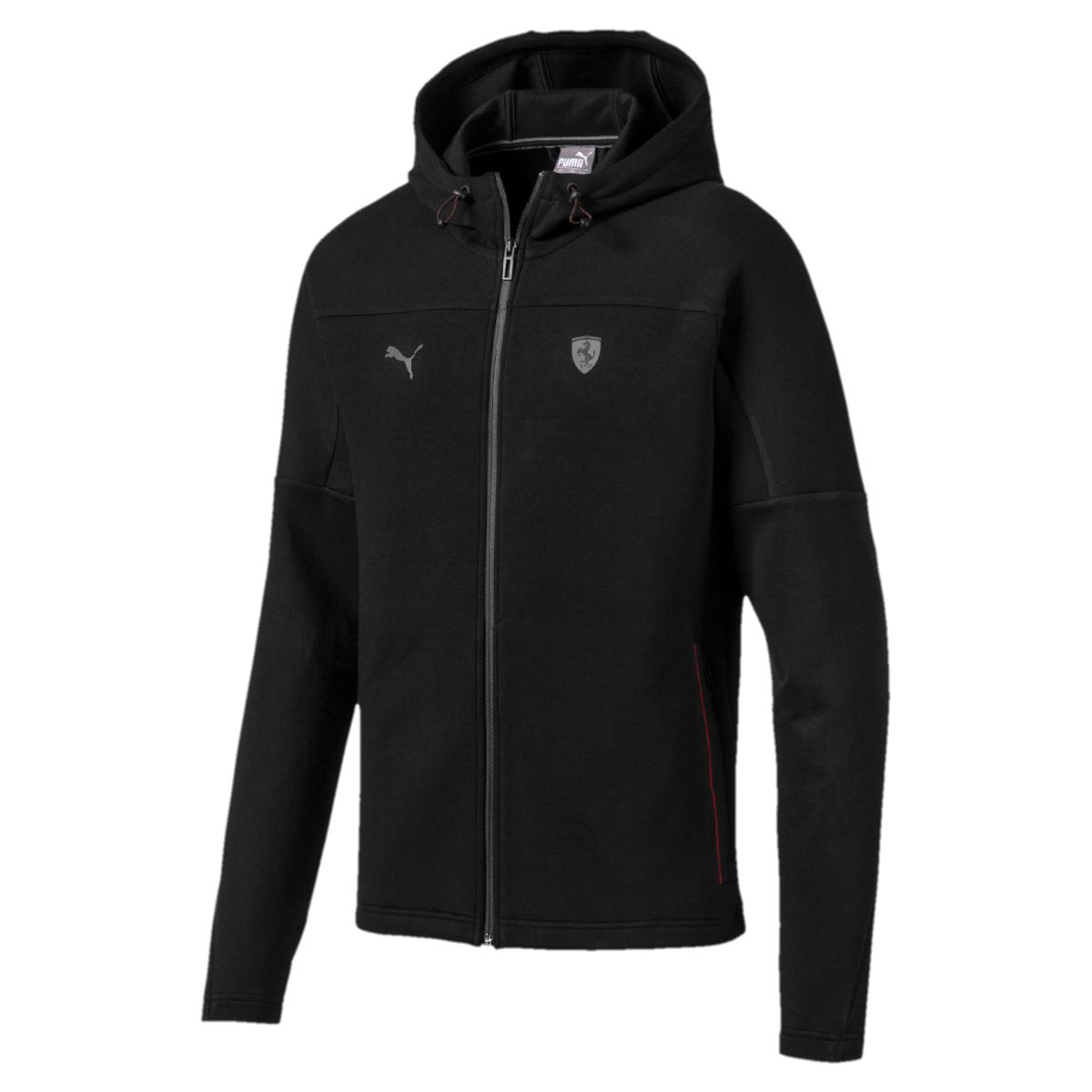 Толстовка PUMA Ferrari Hooded Sweat Jacket свитер puma тренировочный mestre traning sweat sr