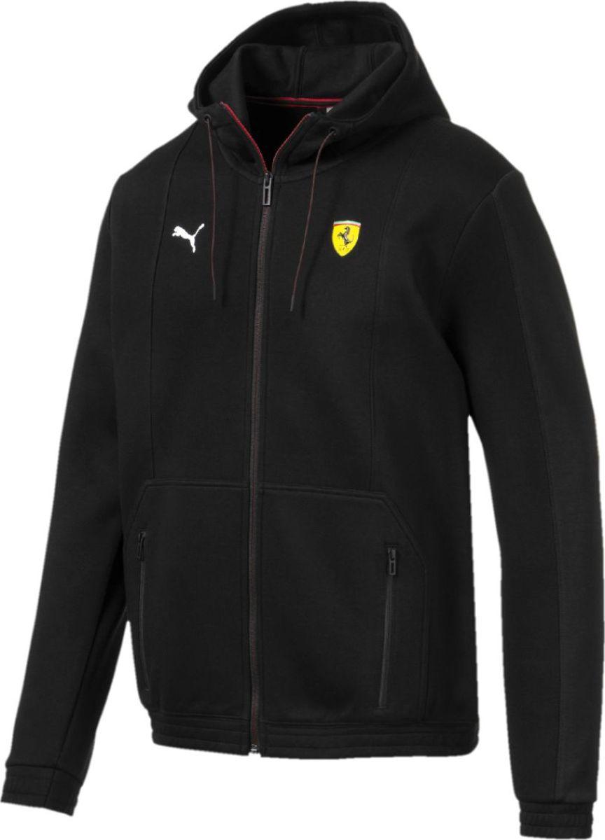 Толстовка PUMA Sf Hooded Sweat Jacket олимпийка мужская puma bmw ms sweat jacket цвет темно синий 57525601 размер l 48 50