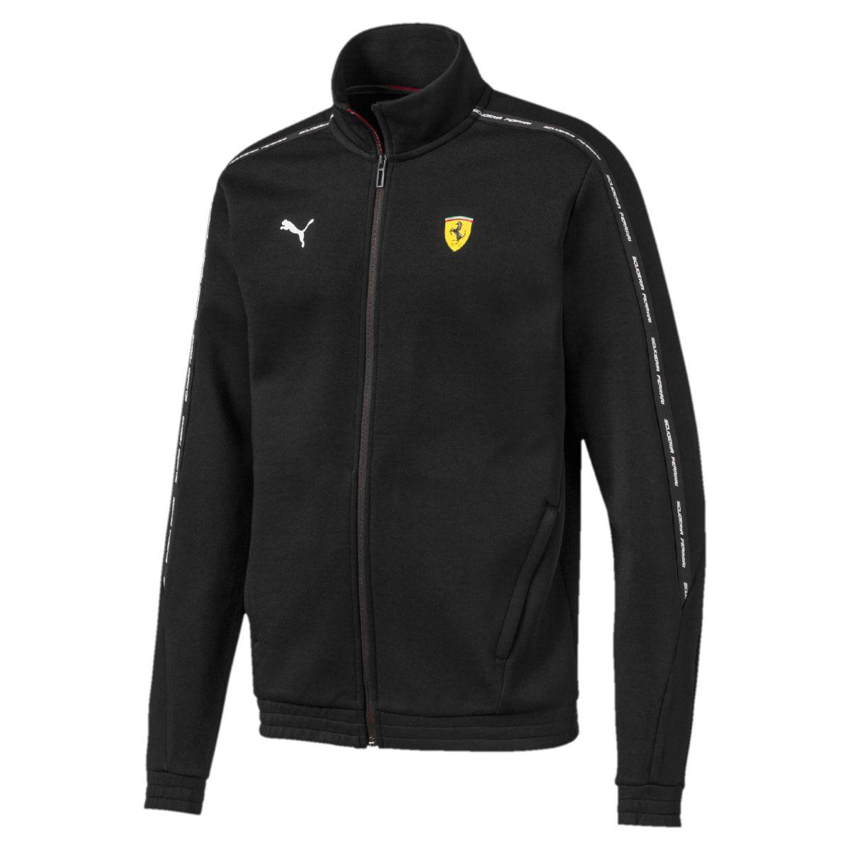 Толстовка PUMA SF Sweat Jacket олимпийка мужская puma bmw ms sweat jacket цвет темно синий 57525601 размер l 48 50