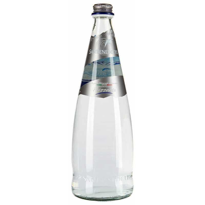Минеральная вода San Benedetto газированная (стекло), 0,75л