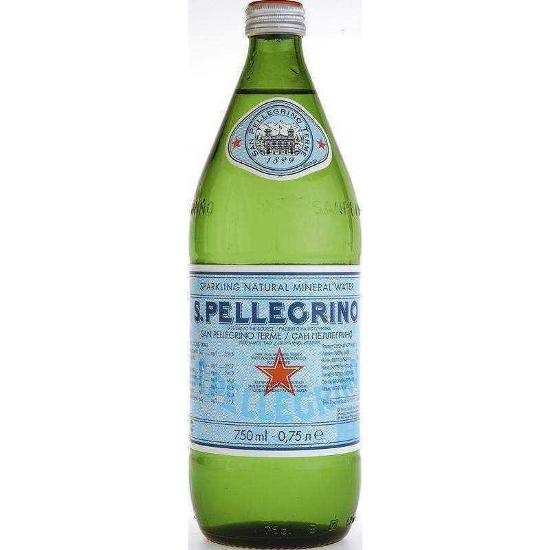 Минеральная вода Sanpellegrino газированная лечебно-столовая (пэт), 0,75л