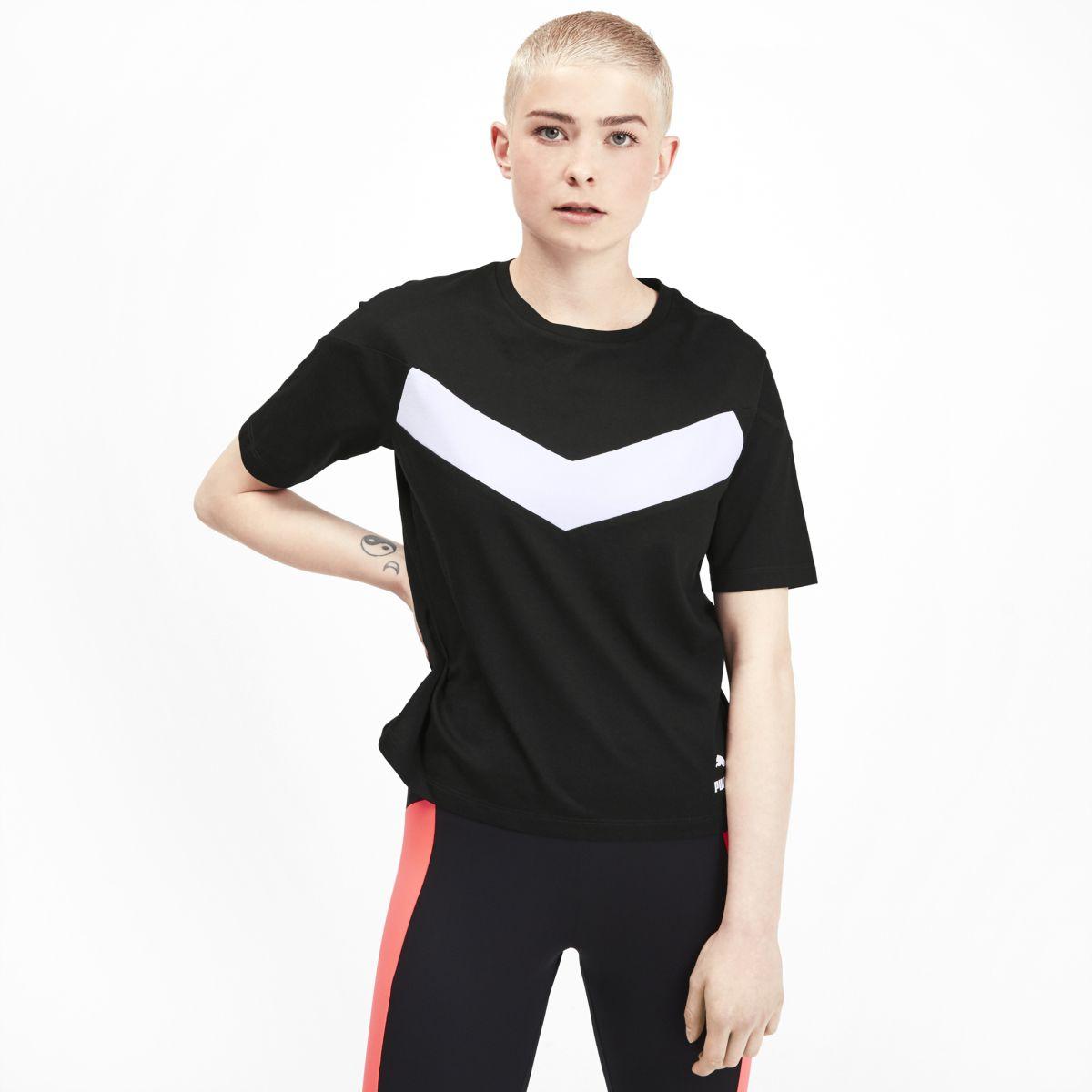 Футболка PUMA XTG Colorblock Tee футболка мужская vans colorblock tee цвет черный va3czdjgp размер s 44