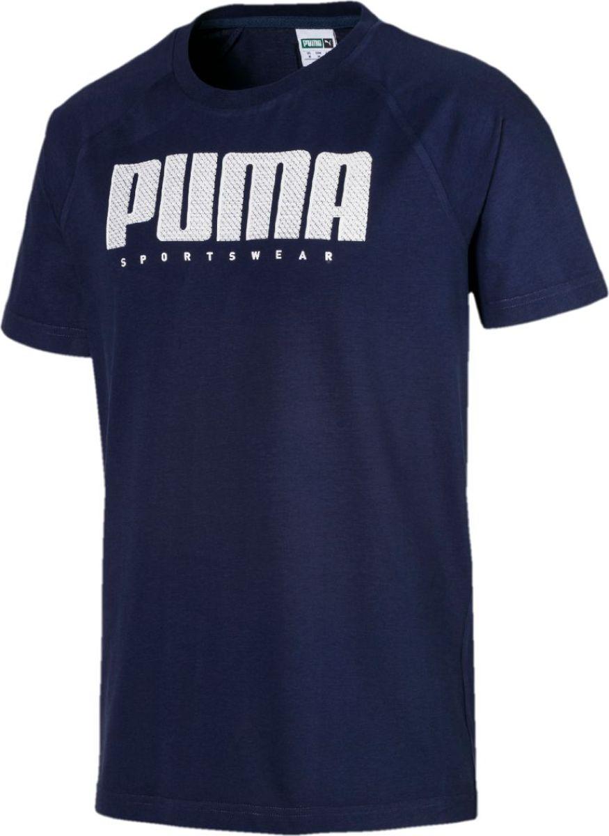 Футболка PUMA Athletics Tee цена и фото