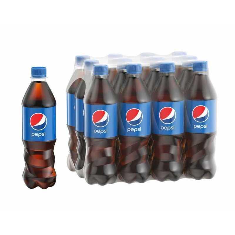 Напиток PEPSI (упаковка 12 штук) газированный, 0,5л