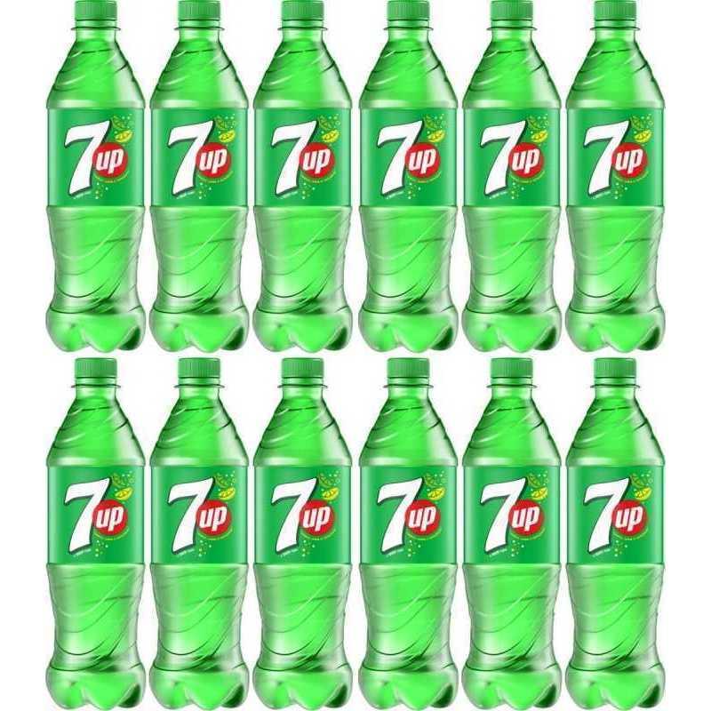 Напиток 7UP газированный (упаковка 12 штук), 0,5л