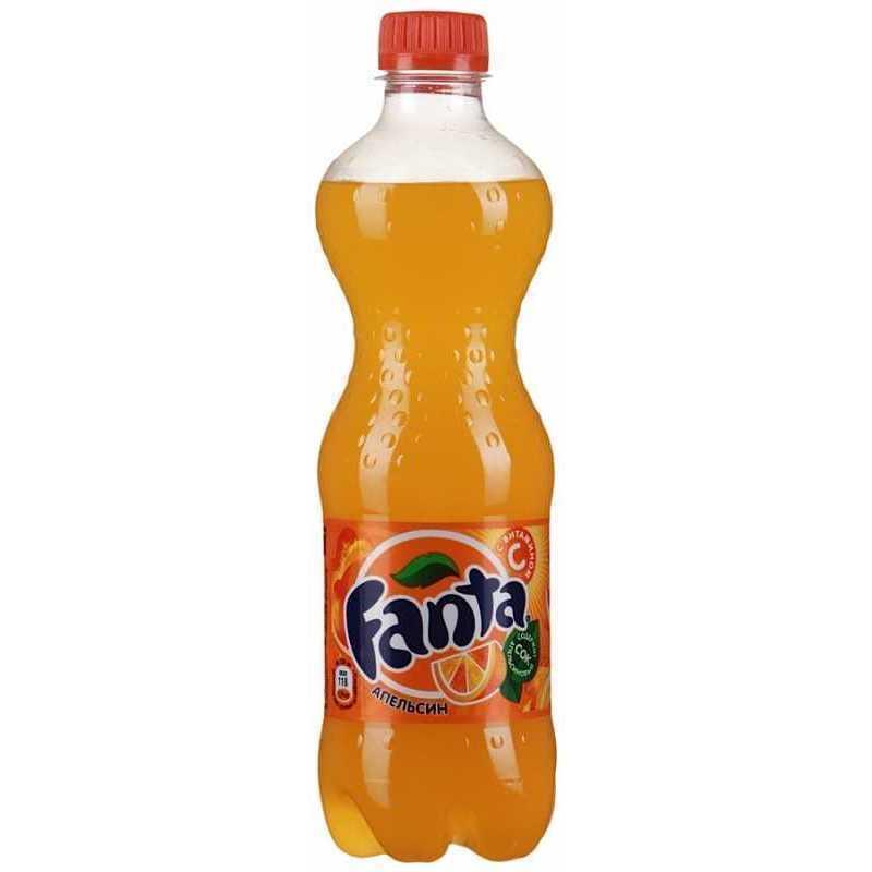 Напиток Fanta Апельсин сильногазированный (пэт), 0,5л (упаковка 24шт)