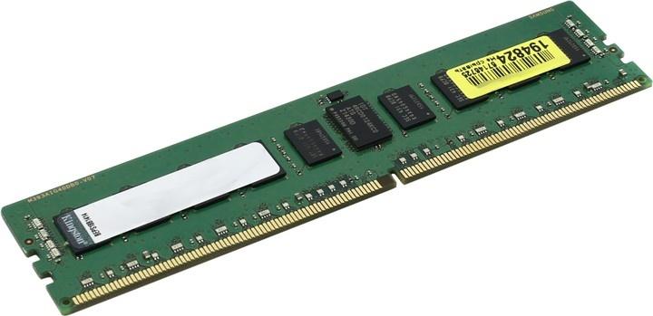 Модуль оперативной памяти Kingston DDR4 4Gb 2400MHz, KVR24R17S8/4 модуль памяти kingston ddr4 dimm 2400mhz pc4 19200 cl17 8gb kvr24n17s8 8