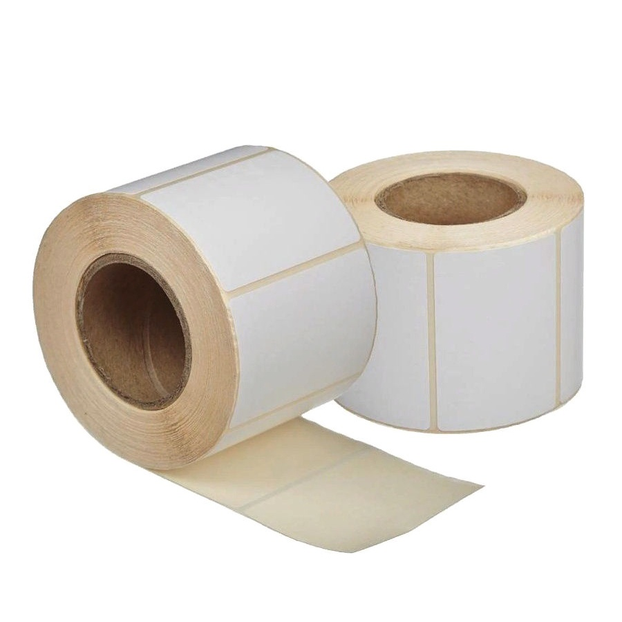 Упаковка самоклеящихся этикеток Lux-Paper 58 мм, 58х60x40, 400 шт. ТермоЭКО без препринта (6 шт)