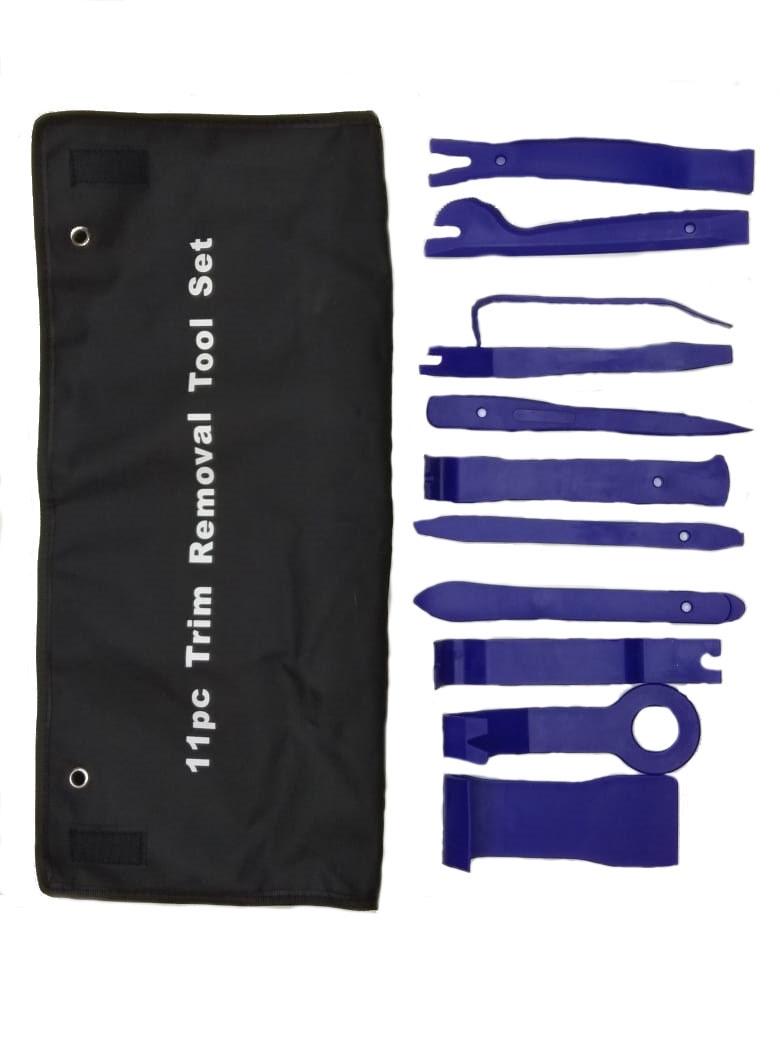 цена на Набор инструмента AM для снятия обшивки и клипс, 11 предметов EVS-B-11