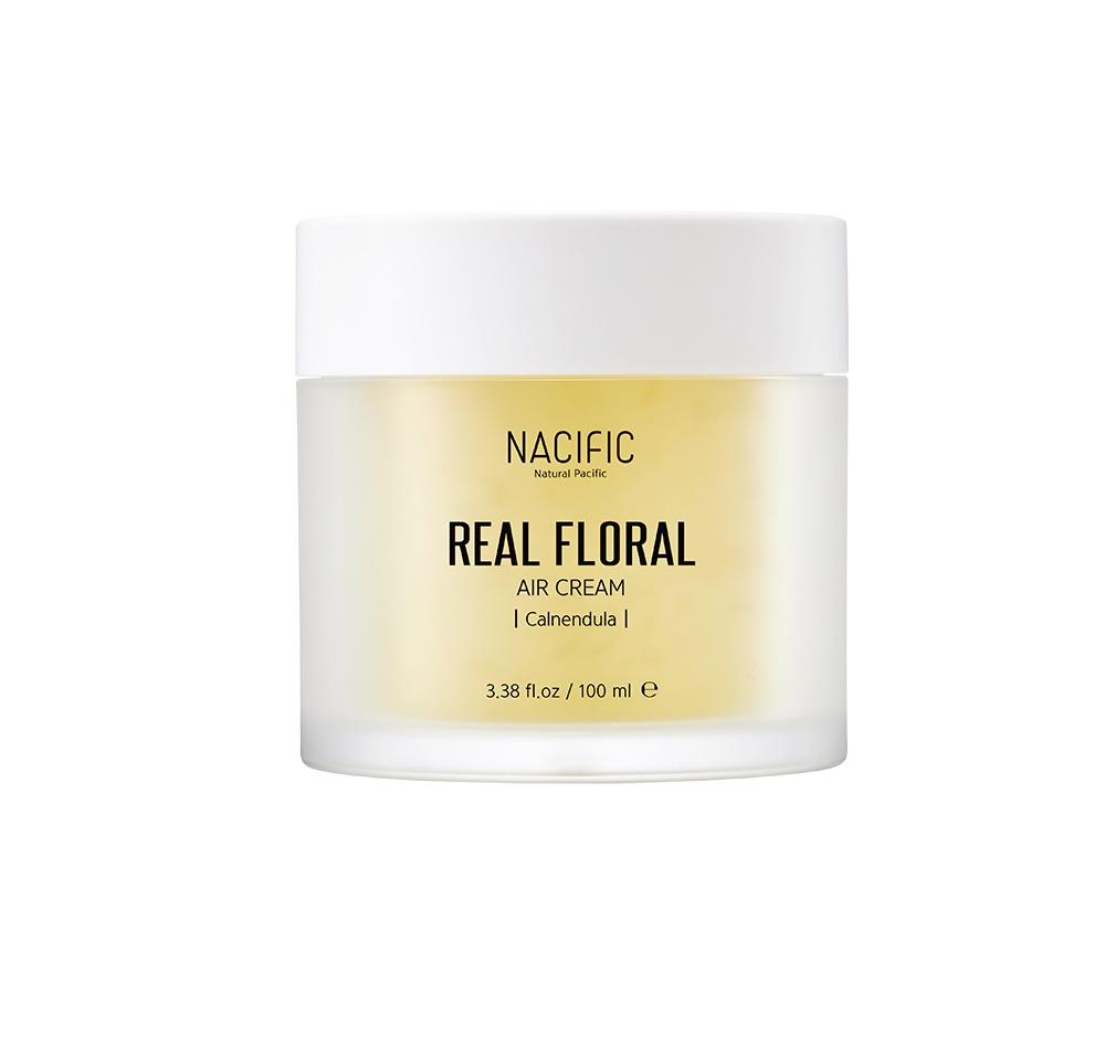 Крем NACIFIC Real Floral Air Cream Calendula увлажняющий с экстрактом и лепестками календулы Помогает глубоко увлажнить кожу и не дает влаге испаряться в течение...