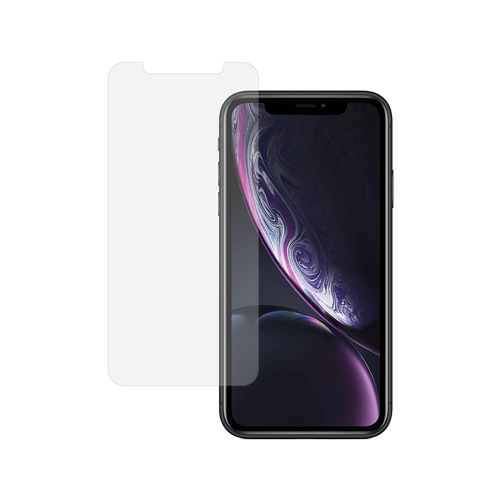 Защитное стекло 2.5D Clear Cover Premium Tempered Glass for Apple iPhone Xr аксессуар чехол для apple iphone xr hardiz glass case white hrd811700