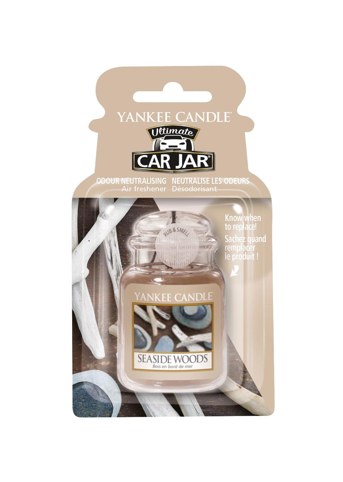 Фото - Авто-ароматизатор гелевый Лес у моря Car jar ultimate Seaside Woods авто