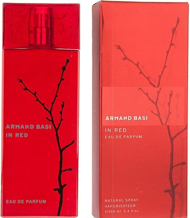 Armand Basi in Red Woman EDP 100 мл armand basi happy in red