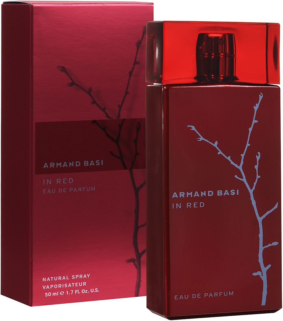 Armand Basi In Red Woman EDP 50 мл armand basi happy in red