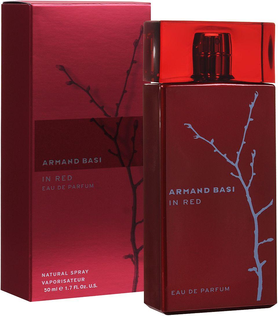 Armand Basi In Red Woman EDP 50 мл цена в Москве и Питере