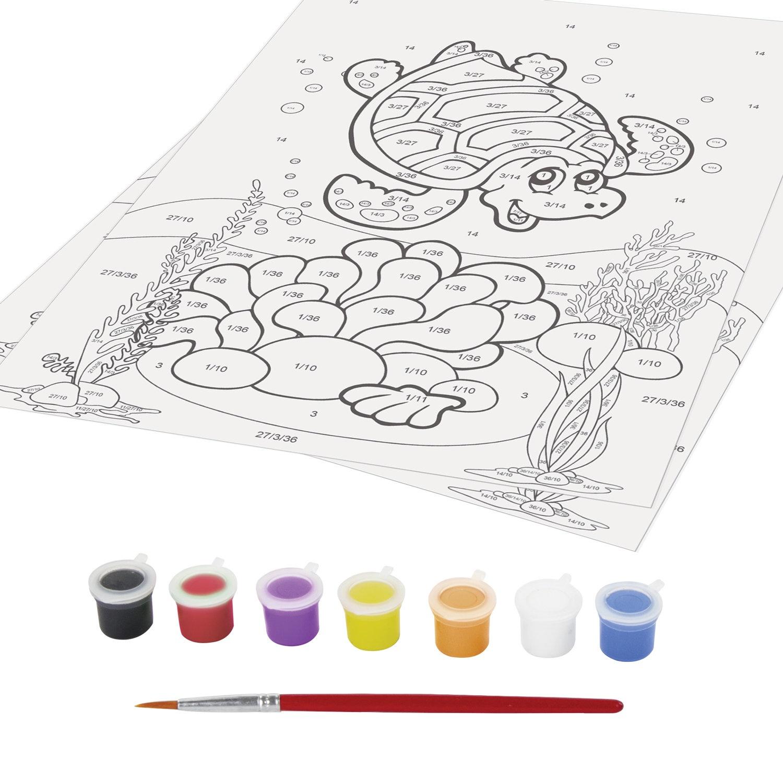 Картины для раскрашивания красками