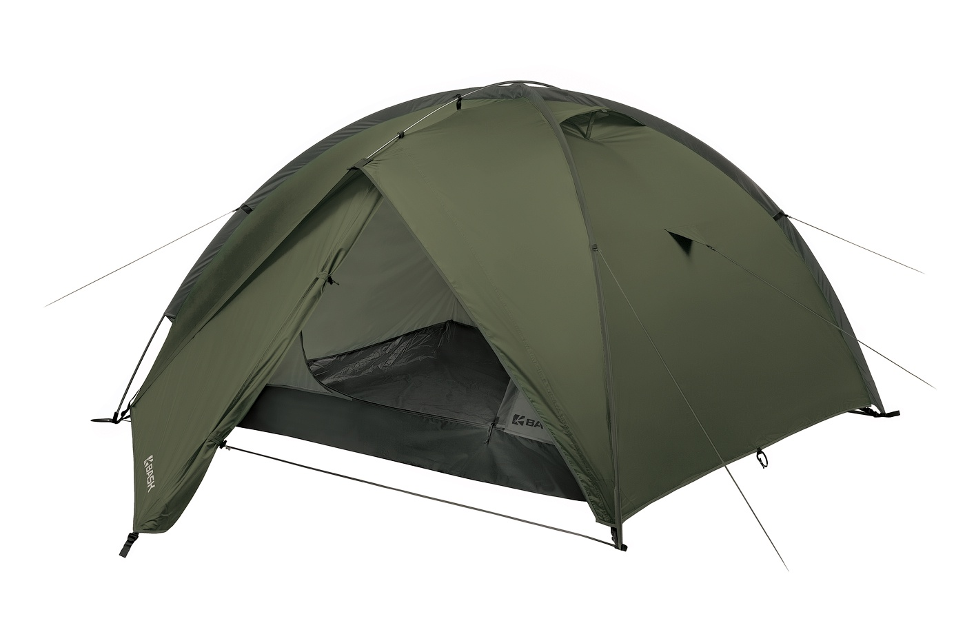 Палатка BASK Bonzer 4, зеленая