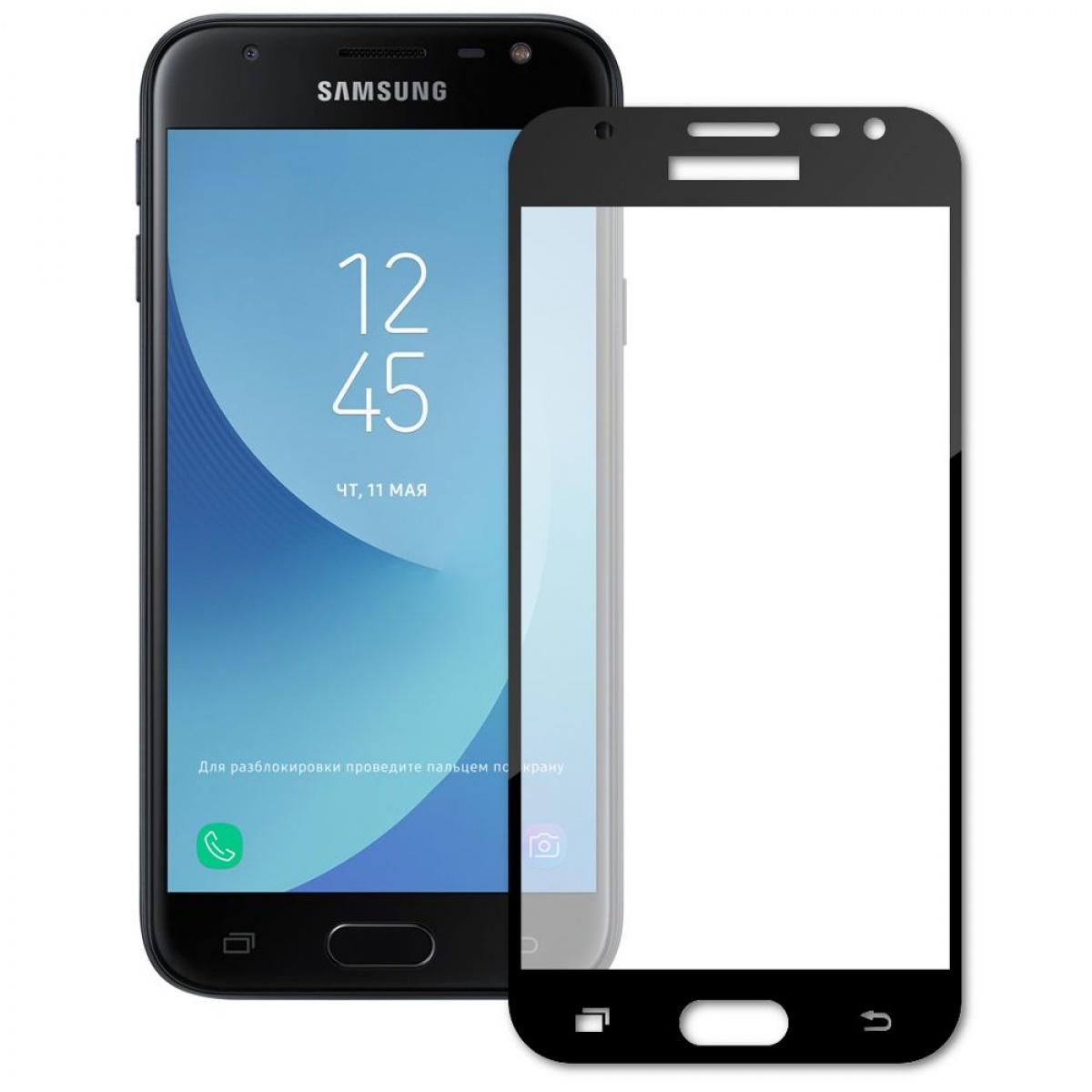 Защитное стекло TFN Samsung J3 2017 Black стоимость