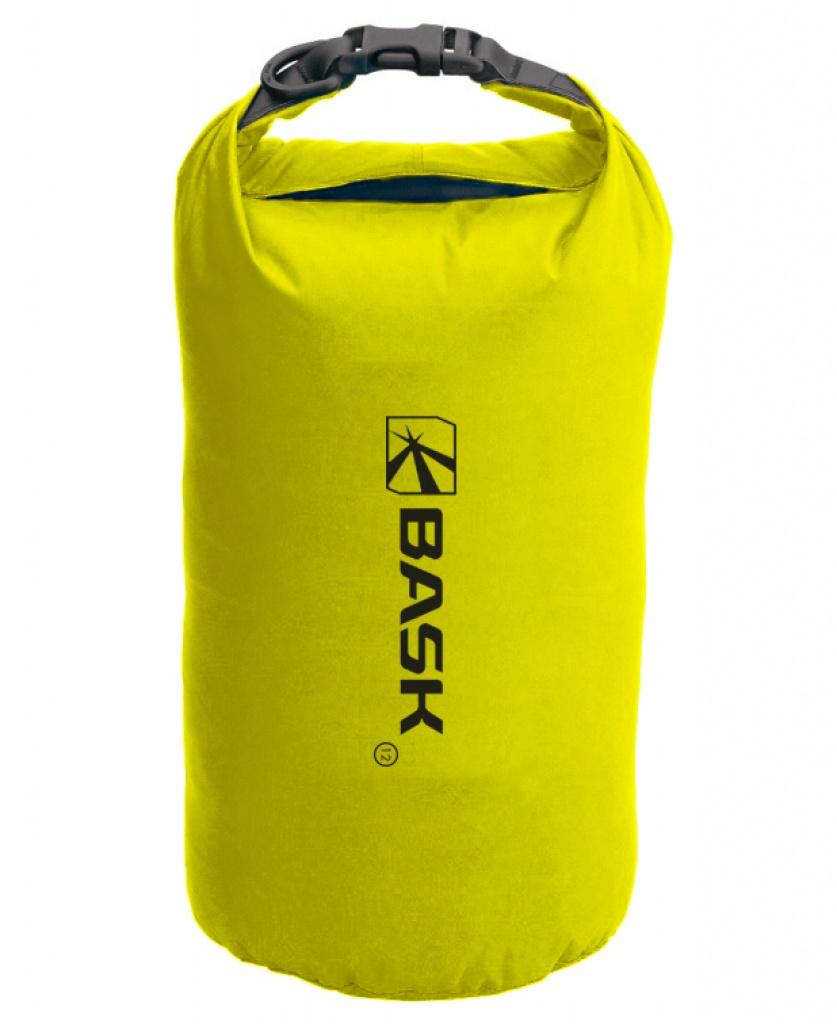 Гермомешок BASK Dry Bag Light 12, желтый мешок герметичный acecamp vinyl dry sack