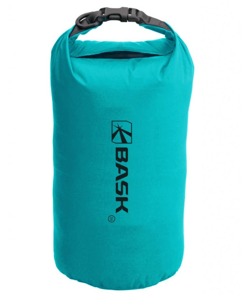 Гермомешок BASK Dry Bag Light 36, бирюзовый мешок герметичный acecamp vinyl dry sack