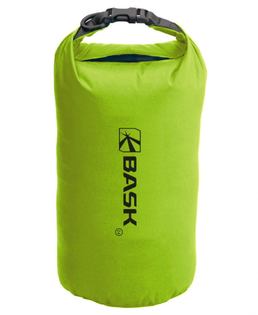 Гермомешок BASK Dry Bag Light 24, зеленый мешок герметичный acecamp vinyl dry sack