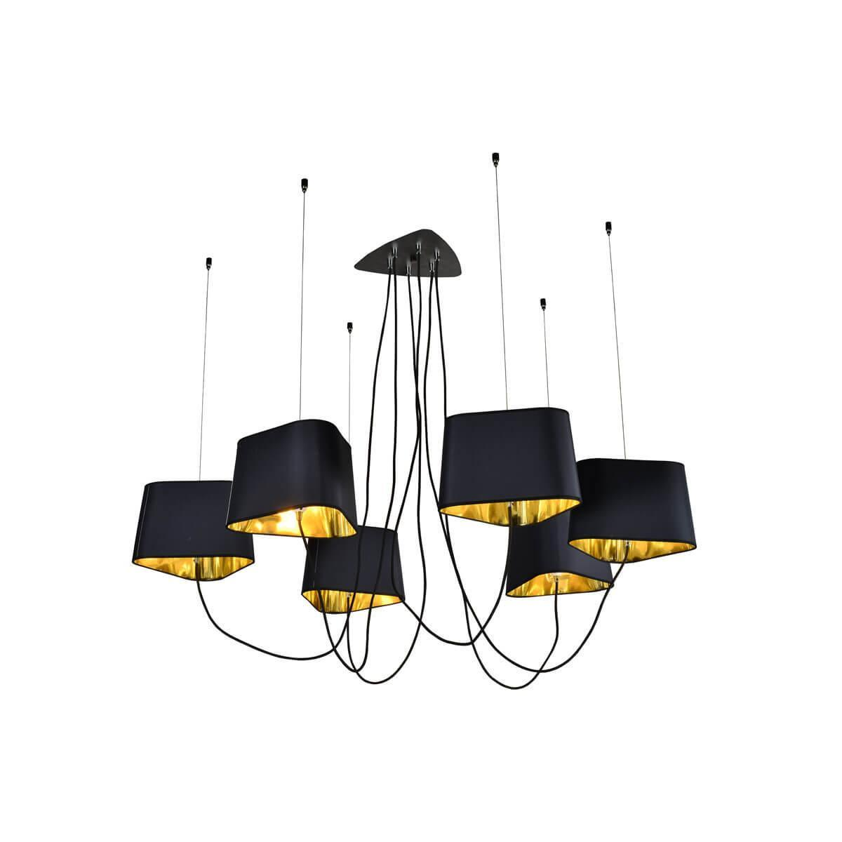 Подвесной светильник Loft it Loft1163-6BL, E14, 40 Вт люстра loft it street black loft1163 6bl