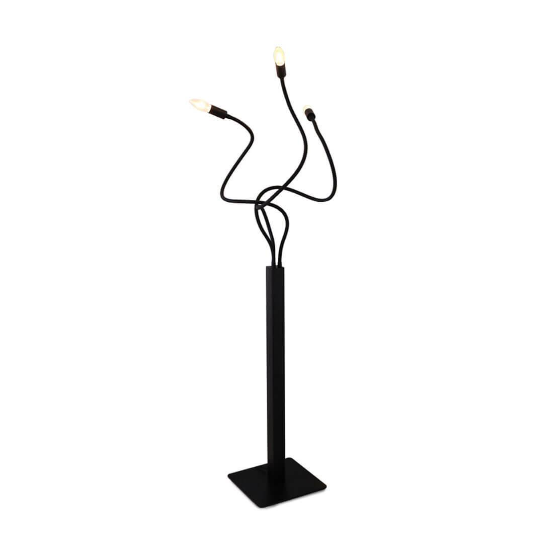 цена на Напольный светильник Loft it Loft1714F-BL, E14, 40 Вт