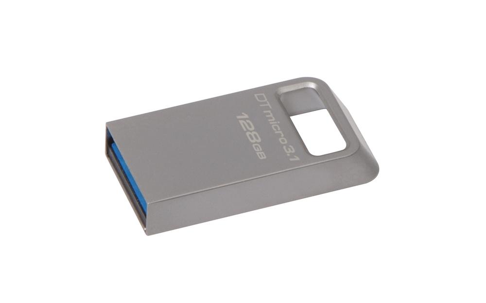 Флеш-накопитель USB  3.0/3.1  128GB  Kingston  DT Micro 100 MB/s type-A