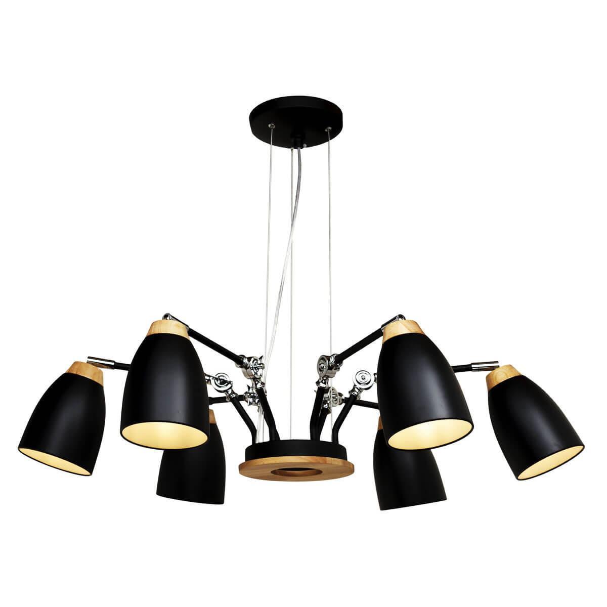Подвесной светильник Loft it Loft4402/6Bl, E27, 60 Вт люстра loft it street black loft1163 6bl