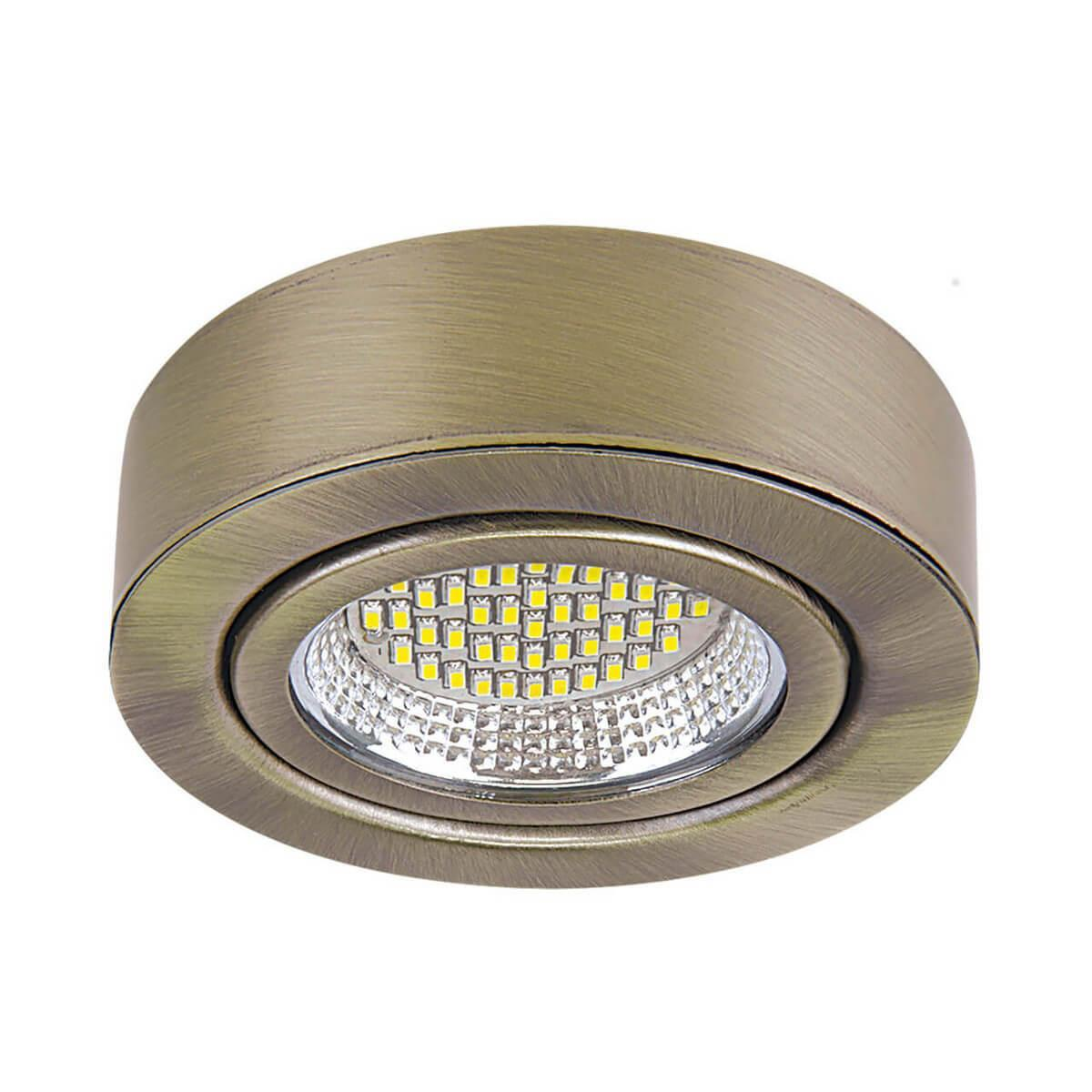 Декоративный светильник Lightstar 003331, LED, 3 Вт lightstar lightstar g5 3 3w 4200k 940904