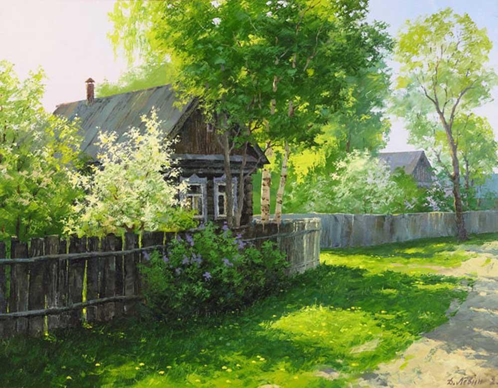 картинки деревенского пейзажа